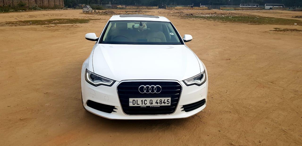 Secondhand Audi A-6 Premium Plus car in Dwarka and Uttam Nagar