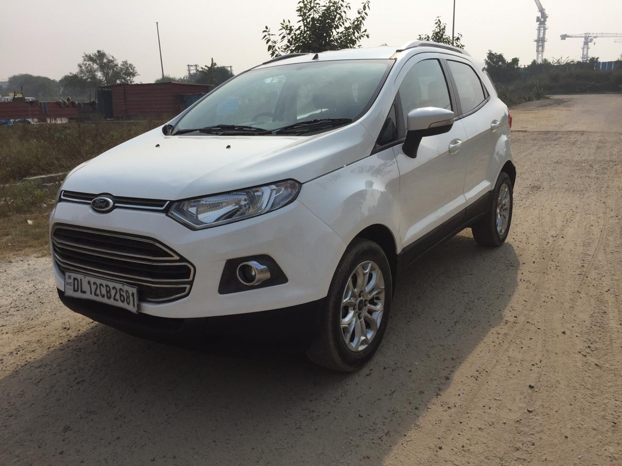Secondhand Eco Sport Titanium car in Dwarka and Uttam Nagar