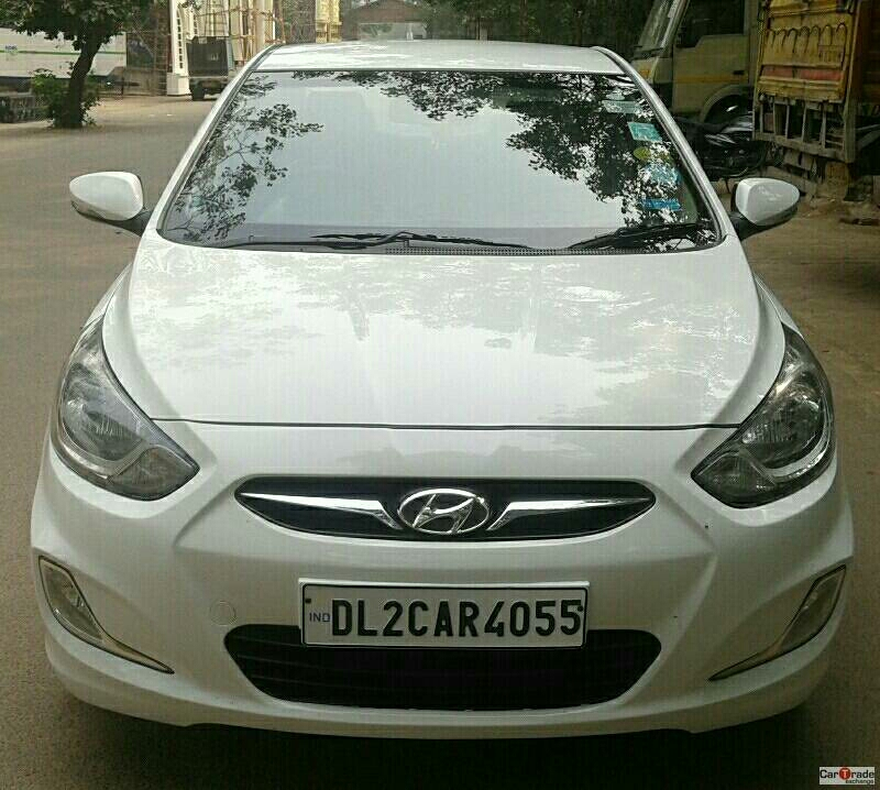 Used Verna fludic-Sx opt Hyundai in Delhi