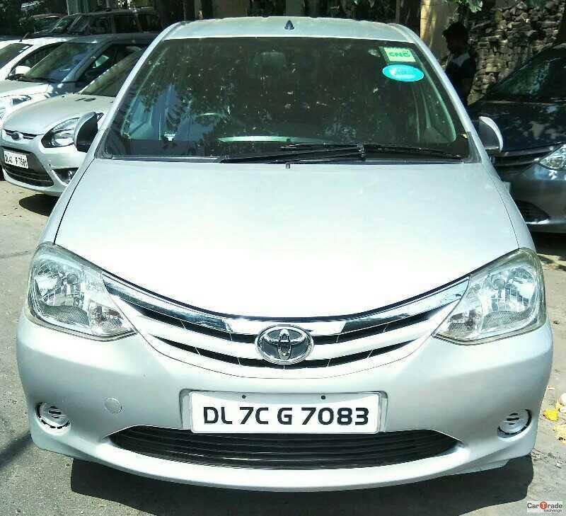 Used Etios-G-Cng Toyota in Delhi