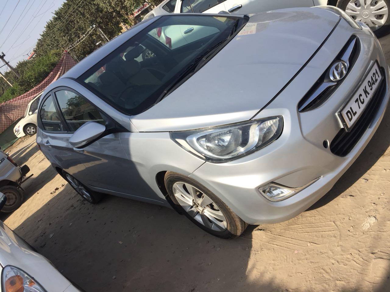 Used Verna fludic-Sx Hyundai in Delhi